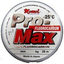 Леска Momoi Pro-Max Fluorocarbon 25м 0.19мм 3.5кг
