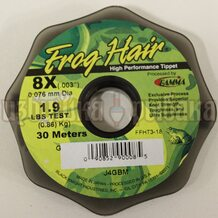 Леска Gamma Frog Hair High Performance Tippet 0.076мм 30м 0.86кг
