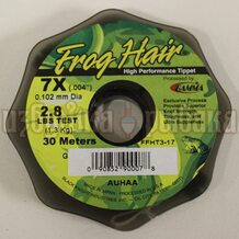 Леска Gamma Frog Hair High Performance Tippet 0.102мм 30м 1.3кг