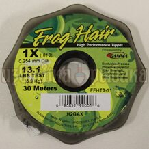 Леска Gamma Frog Hair High Performance Tippet 0.254мм 30м 5.9кг