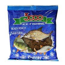 Прикормка зимняя готовая Sensas 3000 Roach Natural 0.5кг