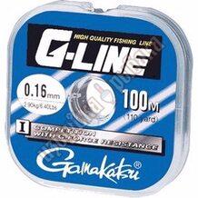 Леска Gamakatsu G-Line Competition Blister 100м 0.18мм 2.86кг