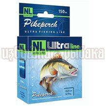 Леска NL Ultra Pikeperch 150м 0.25мм 6.7кг