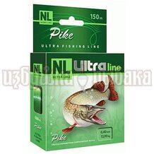 Леска NL Ultra Pike 150м 0.40мм 13.9кг