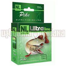 Леска NL Ultra Pike 150м 0.35мм 11.8кг