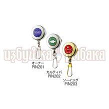 Ретривер Owner 89620 Pin-On Reel PIN-202 зелёный