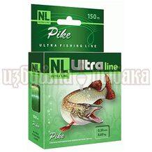 Леска NL Ultra Pike 150м 0.30мм 8.6кг