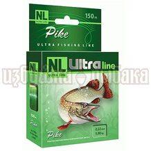 Леска NL Ultra Pike 150м 0.22мм 5.9кг