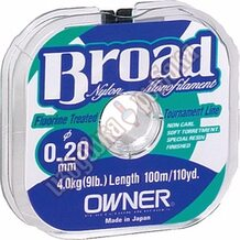 Леска Owner Broad 100м 0.40мм 13.0кг