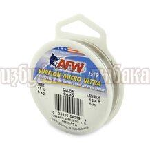 Поводочный материал AFW Surflon Micro Ultra 1*19 5м 0.30мм 5кг цвет Camo