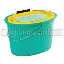Кан Akara овальный T001 для живцов 7 литров