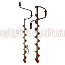 Ледобур титановый для сменной головки Heinola (Rapala) 135мм или 155мм с удлинителем TEURUD135/155