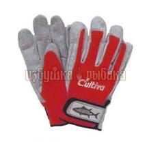Перчатки C'ultiva защитные цвет красный размер L