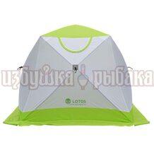 Палатка зимняя кубическая Lotos Cube Professional 2.1х2.1х1.8м