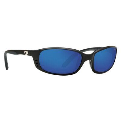 Очки Costa del Mar Brine Matte Black Blue Mirror 580G