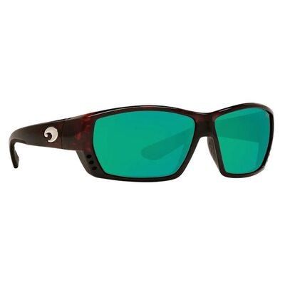 Очки Costa del Mar Tuna Alley Tortoise Green Mirror 580P