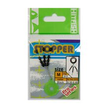 Стопор HitFish Stopper Yellow #M (12 шт.) 0.30-0.40мм