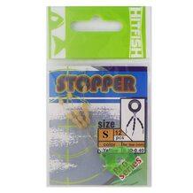 Стопор HitFish Stopper Yellow #S (12 шт.) 0.22-0.28мм