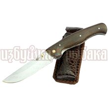 Нож Сибиряк кованый складной, сталь 95Х18
