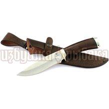 Нож Близнец кованый, сталь Elmax, чёрное дерево, литьё