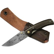 Нож Аляска кованый складной, сталь D2