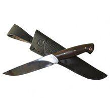 Нож Пантера кованый цельнометаллический, сталь Х12МФ, граб