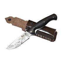 Нож Сибиряк кованый складной, сталь D2