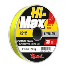 Леска Momoi Hi-Max F-Yellow 30м 0.18мм 3.5кг