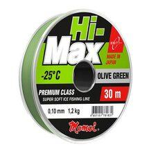 Леска Momoi Hi-Max Olive Green 30м 0.18мм 3.5кг