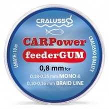 Фидергам Cralusso CARPower Feeder Gum 10м 0.8мм