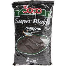 Прикормка Sensas 3000 Super Black Gardons 1кг