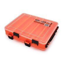 Коробка Top Box LB-1700 двухсторонняя оранжевая (200*170*50 мм)