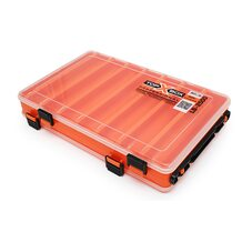 Коробка Top Box LB-2500 двухсторонняя оранжевая (270*185*50 мм)