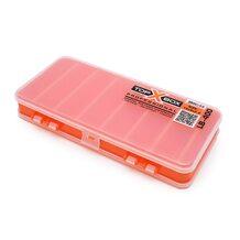 Коробка Top Box LB-400 двухсторонняя оранжевая (180*80*25 мм)
