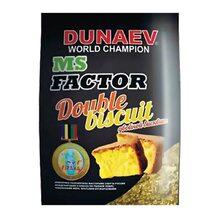 Прикормка Dunaev МС Фактор Двойной бисквит 1кг