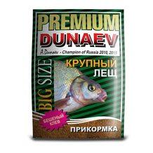 Прикормка Dunaev Премиум Лещ крупная фракция 1кг