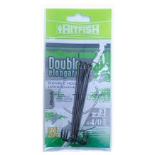 Двойник HitFish Double Elongate+ hook with long shank #4/0 89мм (3 шт.)