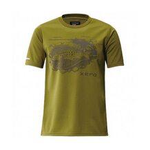 Футболка Shimano Xefo T-Shirts SH-296N оливковая размер XL (EU L)
