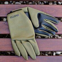 Перчатки Smith неопреновые 5F оливковые размер L