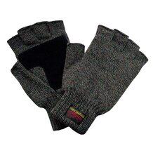 Перчатки Envision без пальцев с утеплителем Thinsulate Platinum (тёмно-серые) (12045)