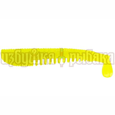 Виброхвост LureMax Yobbo 2.5'' 60мм цвет 001 Chartreuse (10шт.)
