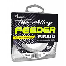 Шнур Allvega Feeder Braid 150м 0.08мм 4.93кг