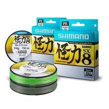 Шнур Shimano Kairiki SX8 PE 150м 0.15мм 9кг