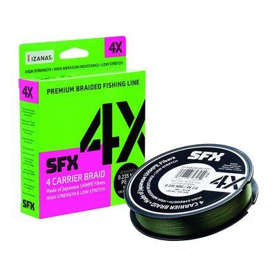 Шнур Sufix SFX 4X зелёный 135м 0.165мм 8.6кг