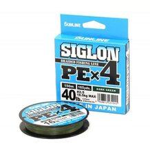 Шнур Sunlline Siglon PEx4 dark green #2.5 (0.270мм) 18.5кг 150м
