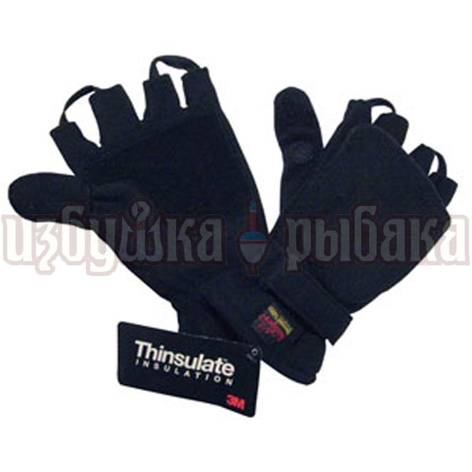 Перчатки без пальцев флисовые badger